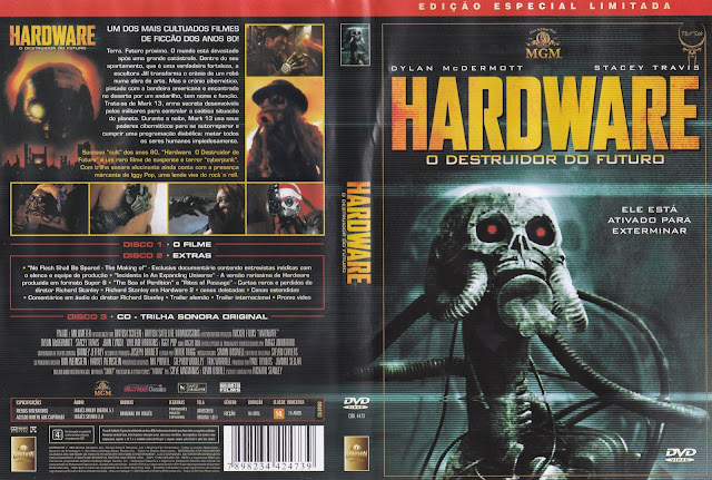 Capa DVD Hardware O Destruidor Do Futuro