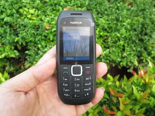 Nokia C1-00 Seken Dual SIM Phonebook 500