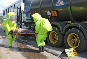 6º Simulado da Autopista Régis Bittencourt - Atendimento a Acidente com Produto Perigoso