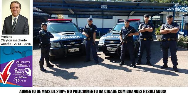 Prefeito Cayton Machado de Valinhos um visionário na Segurança Pública Municipal