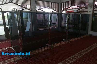 Jasa Hijab Masjid Stainless di Cibinong Bogor dan sekitarnya
