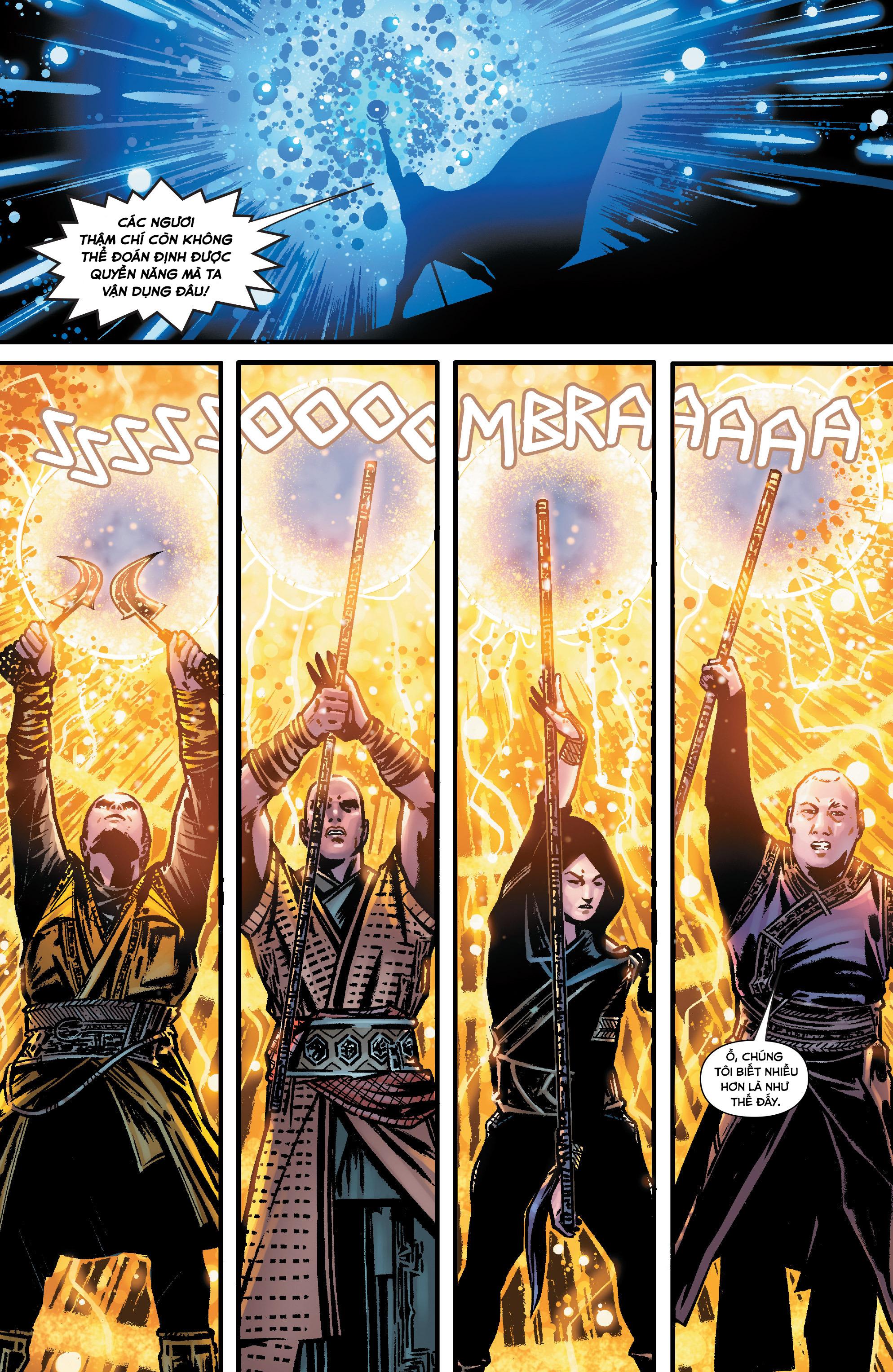 Doctor Strange Prelude kỳ 1 trang 14