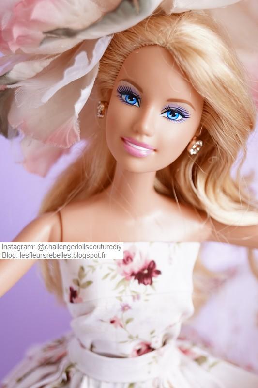 Portrait Barbie avec chapeau