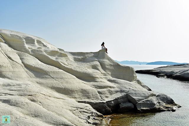 Sarakiniko, isla de Milos (Grecia)