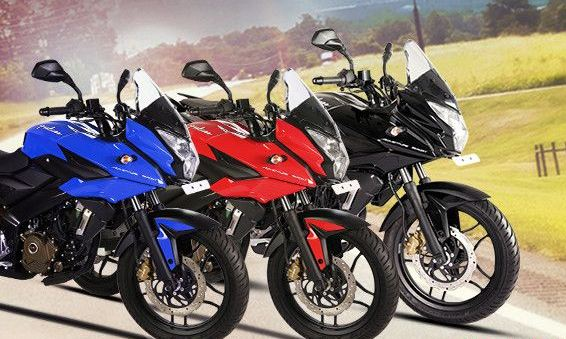 bajaj pulsar as 150 colours