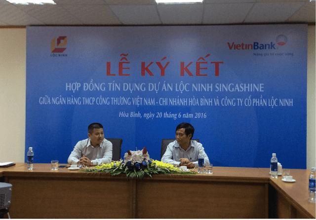 Vietinbank bảo lãnh dự án chung cư Lộc Ninh.