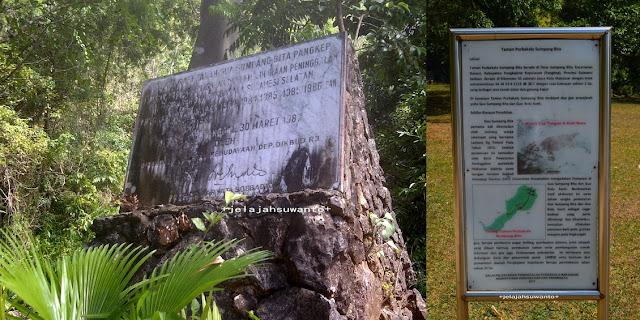 Informasi Sumpangbita Prehistoric Park, Pangkep