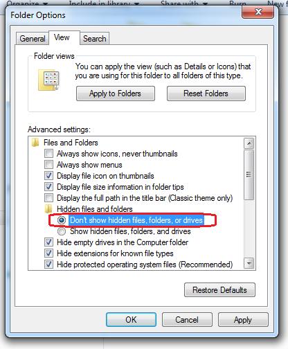 Cara Menyembunyikan File di Laptop dan Kompueter