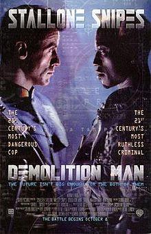 Sinopsis Film Demolition Man