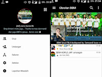 BBM Mod Black White Color - Base Official Version 3.0.0.18 Apk Terbaru 2016