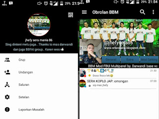 BBM Mod Black White Color - Base Official Version 3.0.0.18 Apk