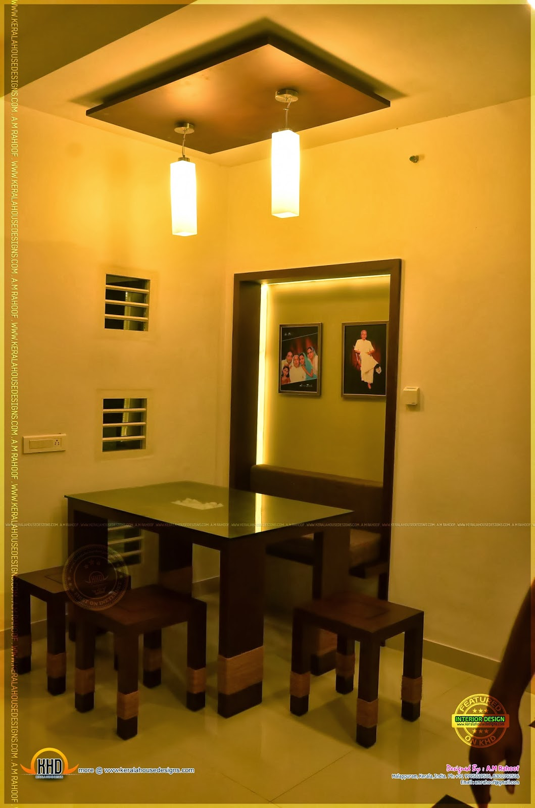 Finished Interior Designs In Kerala: Beautiful Interiors Of A Finished House