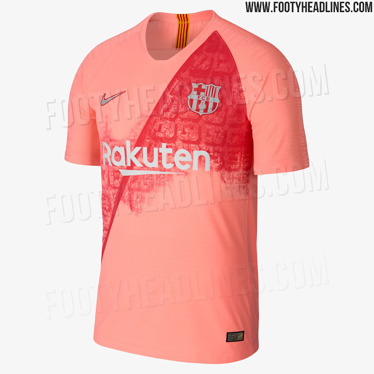 f615cd17b3f Nike FC Barcelona 18-19 Third Kit Released - Footy Headlines
