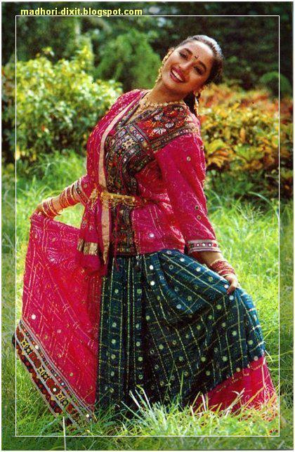 Madhuri Dixit In Superb Kashmiri Dress