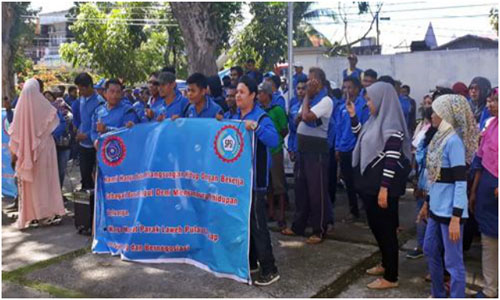 Iswandi Muchtar Anggota DPRD Padang, Berusaha Mendinginkan Suasan