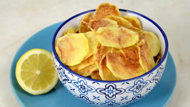 Patatas fritas al microondas. Fáciles, rápidas y muy sanas