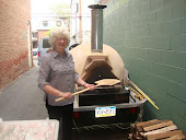 Norma and Bob's wood-fired oven