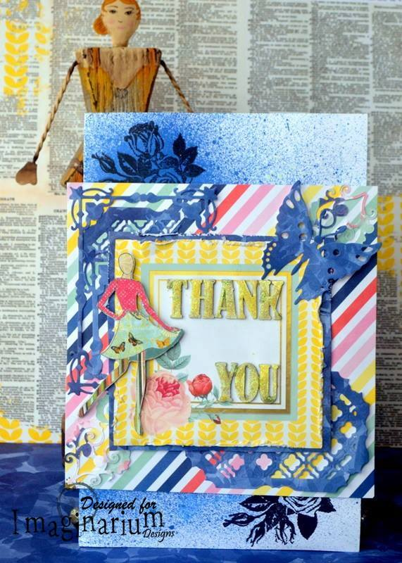 card agnieszka bellaidea for imaginarium designs mixedmedia chipboards