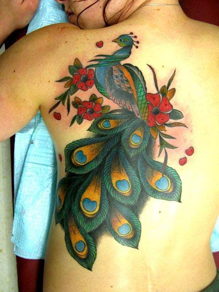 best peacock tattoos designs ideas