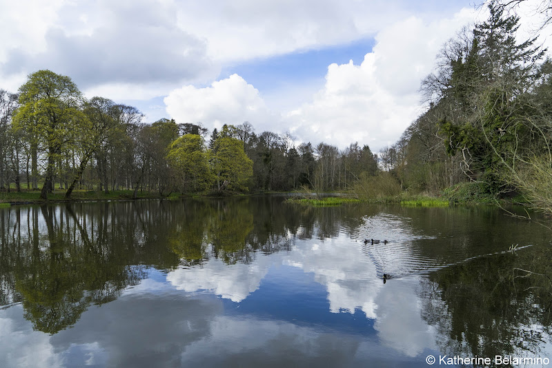 Fyvie Castle Gardens Best Castles in Scotland for a Road Trip Itinerary