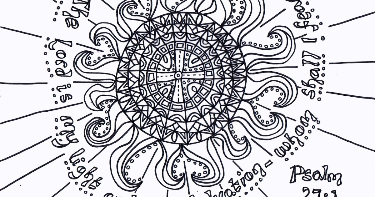 Psalm 23 Printable Coloring Pages - Colorings.net