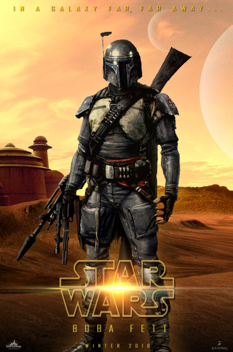 Poster Star Wars: Boba Fett