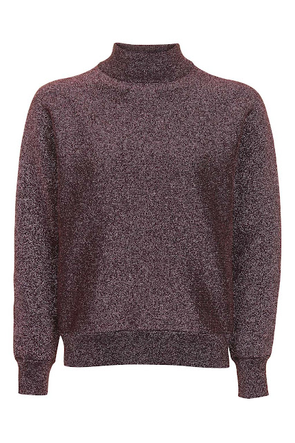 brown metallic jumper,
