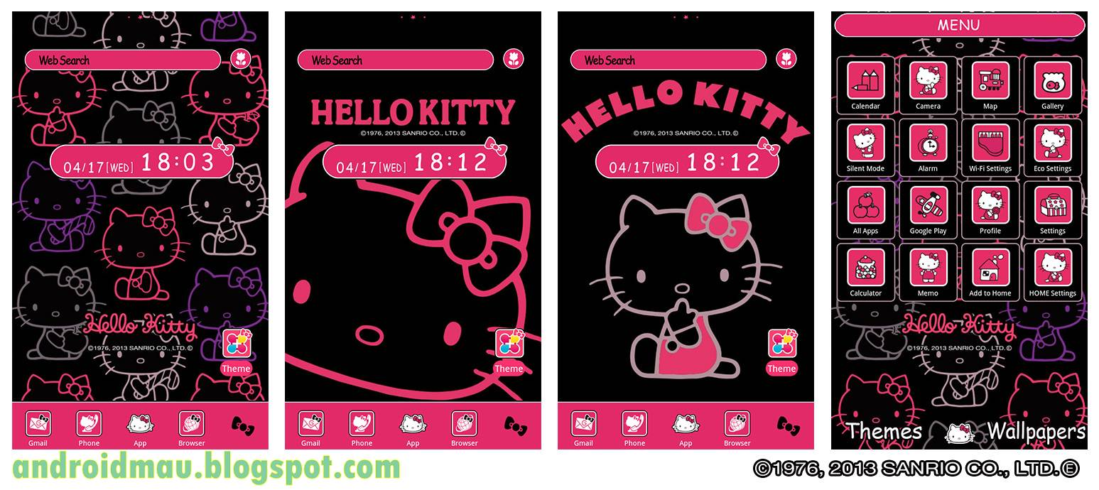 tema hello kitty
