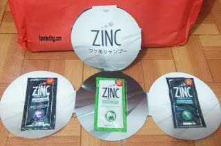 shampoo zinc