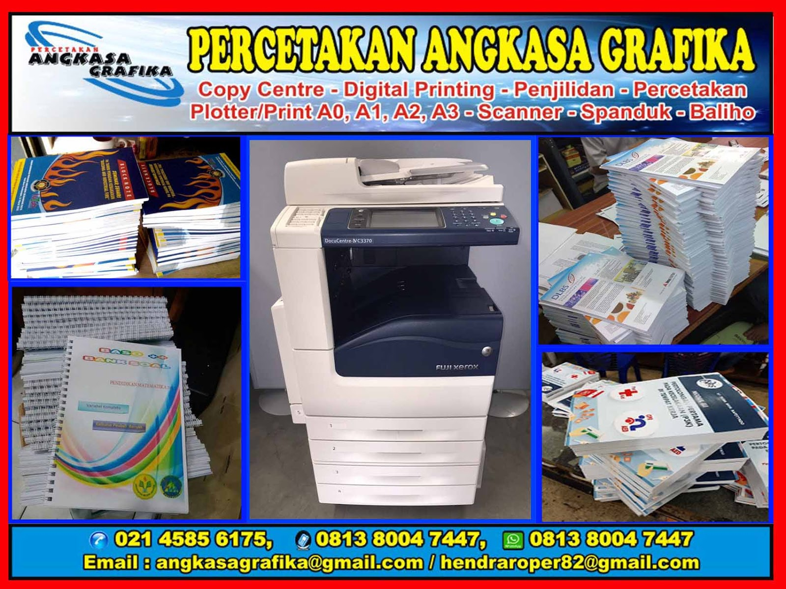 Jasa Fotocopy Warna Murah Online 24 Jam Di Kelapa Gading Jakarta Utara