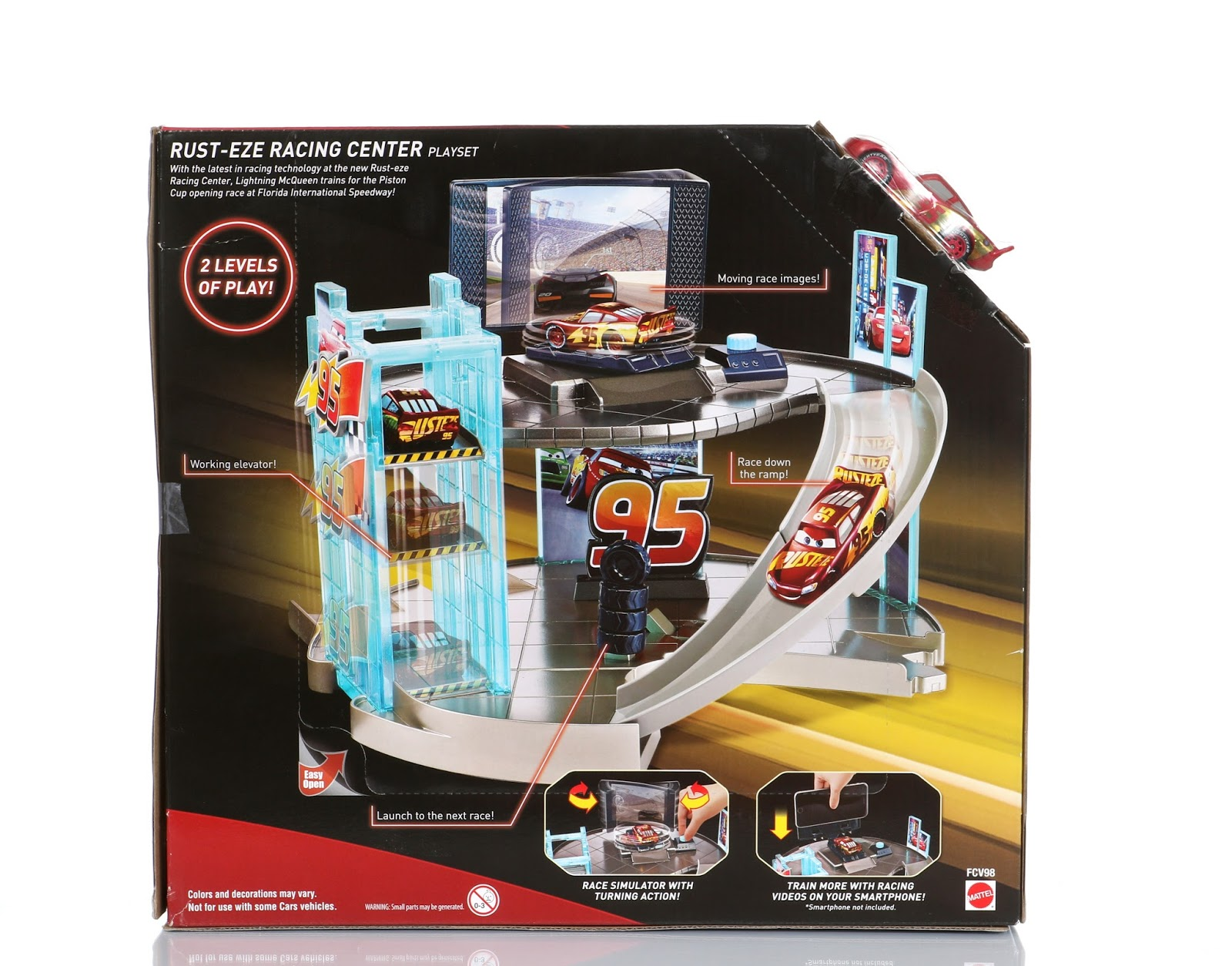 Dan The Pixar Fan Cars 3 Rust Eze Racing Center Playset Target
