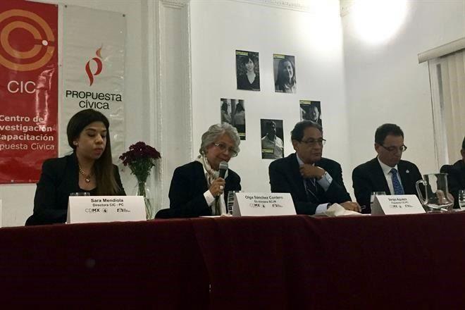 La futura Secretaria de Gobernación, Olga Sánchez, aseveró que las Procuradurías en el País están podridas y corruptas 7277429
