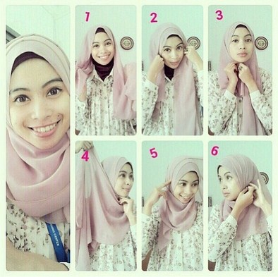 Tampil Fresh Dengan Kreasi Hijab Modern Simple Pashmina Untuk Ke Kampus