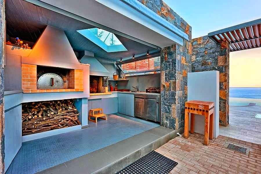 Casa de playa en Isla Creta con impresionantes vistas al mar Egeo  ArQuitexs
