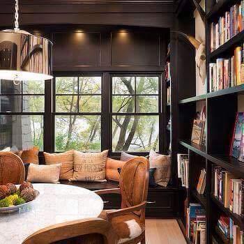 Idea Ruang Bacaan Perpustakaan Di Rumah Cantik Cantik