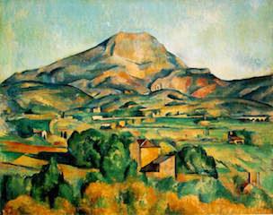 Monte Sainte-Victoire by Cézanne
