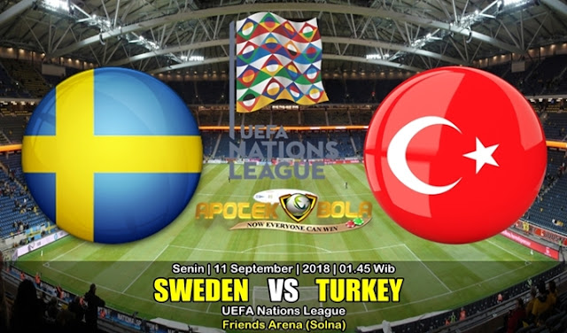 Prediksi Swedia Vs Turki 11 September 2018