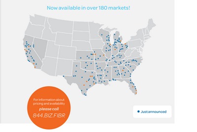 Converge! Network Digest: AT&T Expands Footprint of Business