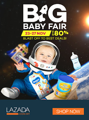 BIG BABY FAIR by LAZADA