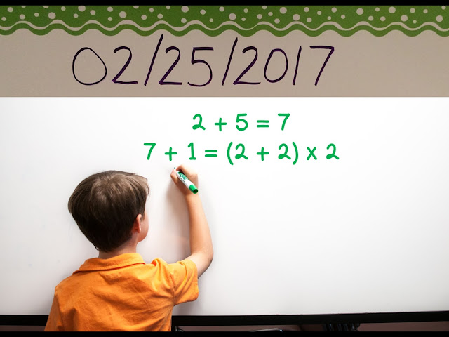 Number sense math in the date