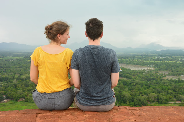 View from Sigiriya rock