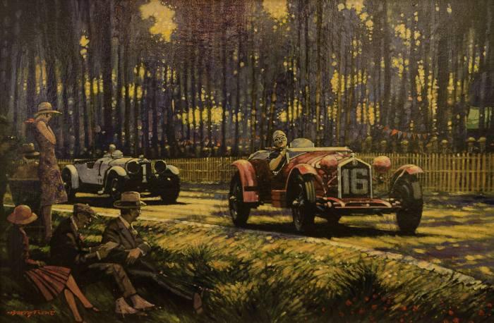 Автомобильное искусство. Barry Rowe