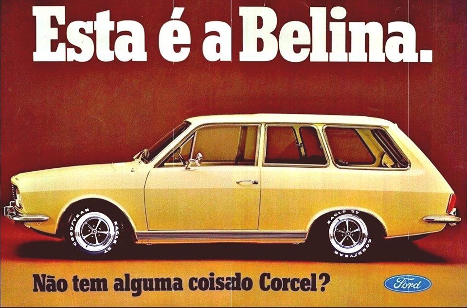 Campanha de lançamento da Ford Belina em 1970