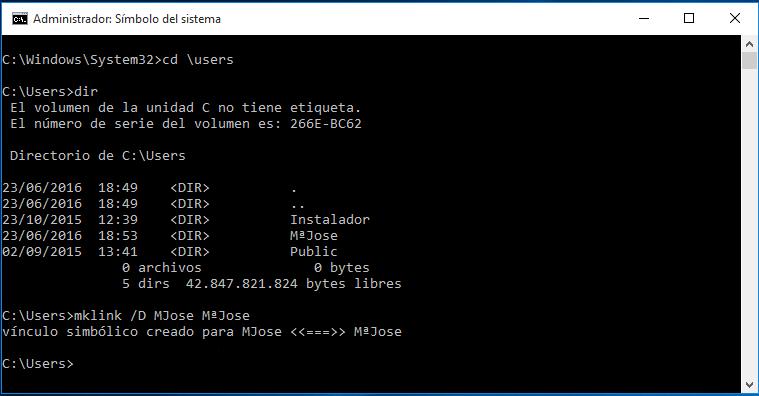 Por último, cambiar el nuevo nombre también en el registro de Windows.