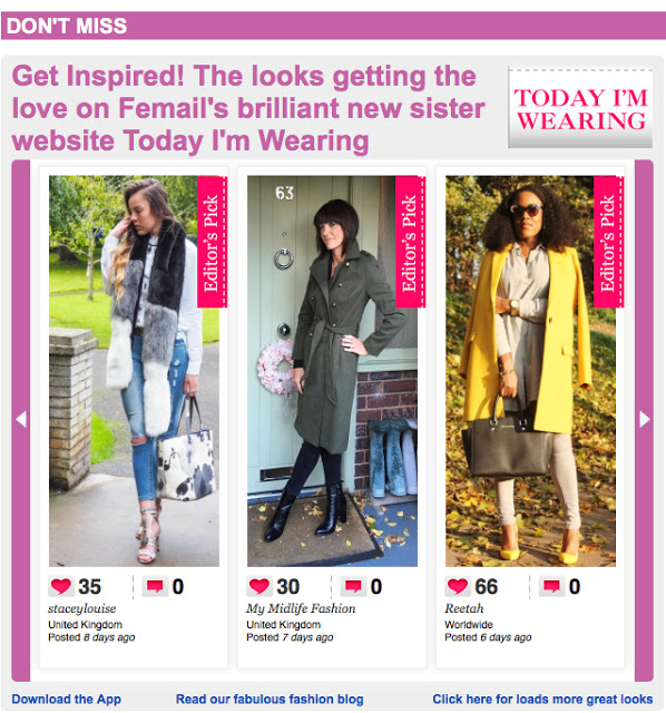 My Midlife Fashion Daily Mail Femail Today I'm Wearing