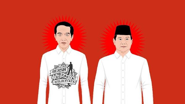 Kata Jokowi dan Prabowo Soal Pembakaran Bendera HTI