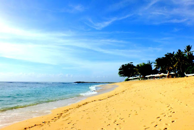 Quite Nusa Dua Beach