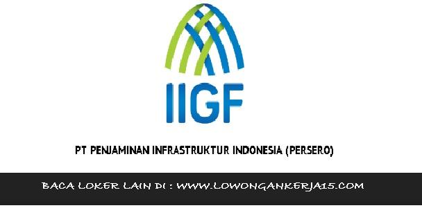 Lowongan kerja Penjaminan Infrastruktur indonesia