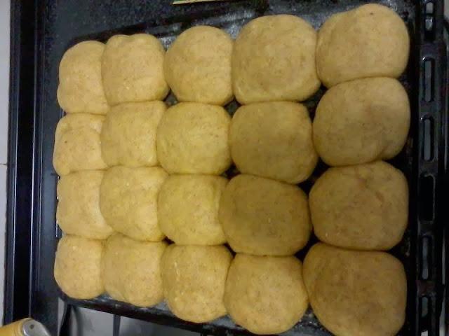Receita de pão de milho integral