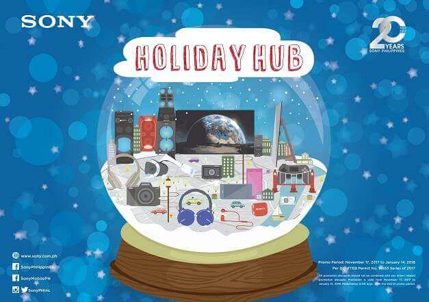 Sony Intros Holiday Hub Promo for Amazing Product Deals